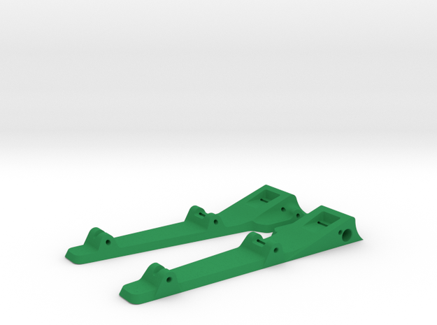 916sr - side pans in Green Processed Versatile Plastic