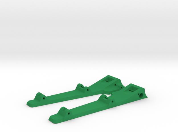 916sr - side pans in Green Processed Versatile Plastic