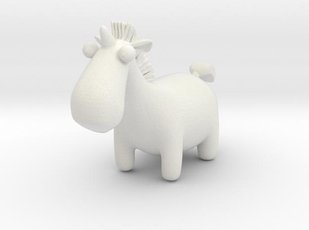 Cute Unicorn in White Strong & Flexible