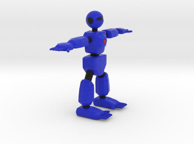 Robot Character Cartoon Bot in Full Color Sandstone