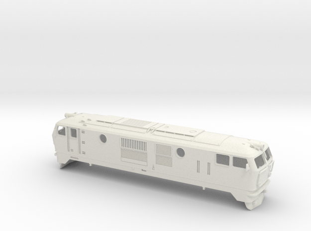 Locomotive FAUR class 76 in White Strong & Flexible