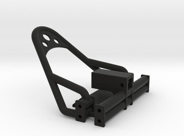 1/24 Crawler Bumper Set (4 link frame) in Black Natural Versatile Plastic