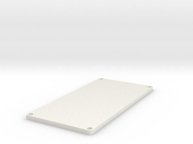 20700 30mm G+ Lid in White Natural Versatile Plastic