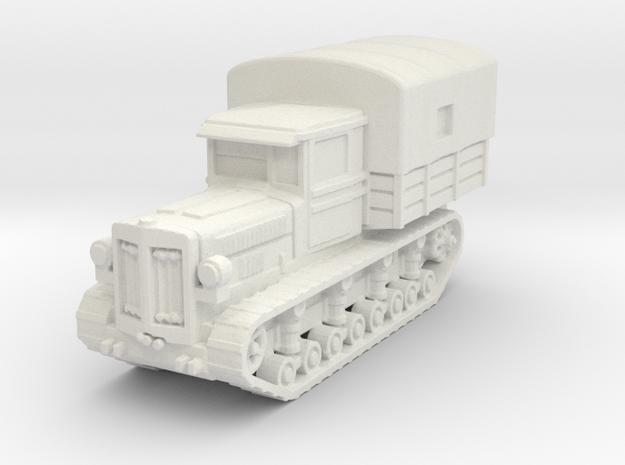 Komintern artillery tractor 1/144 in White Natural Versatile Plastic