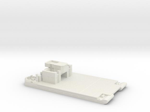 1/350 Pionier-Landungfahre 41 w Deckhouse I & Flak in White Strong & Flexible