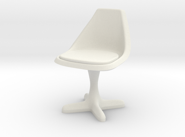 Burke Style 115 1:24 Scale in White Natural Versatile Plastic