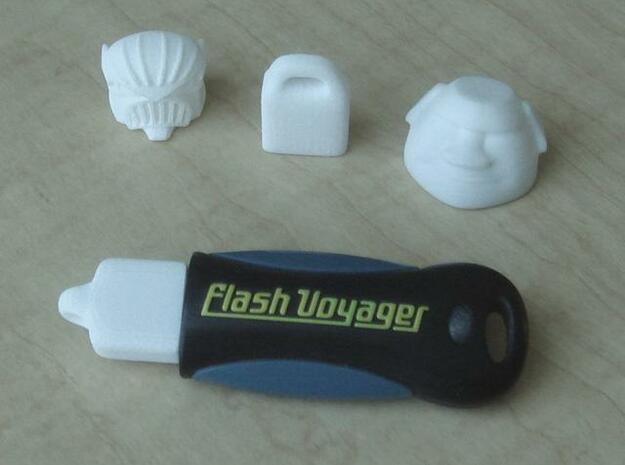 Moai Head USB cap 3d printed Photo