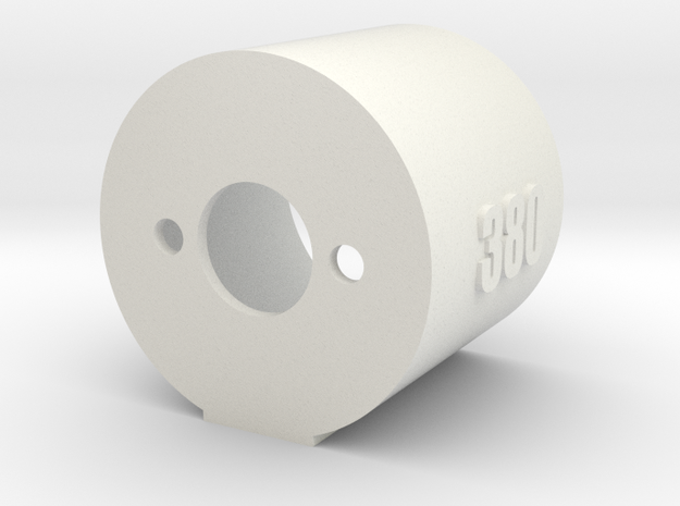 Motor Mount 380 - Version 2 in White Natural Versatile Plastic