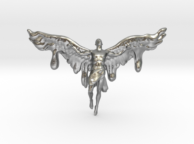 Melting Icarus in Natural Silver