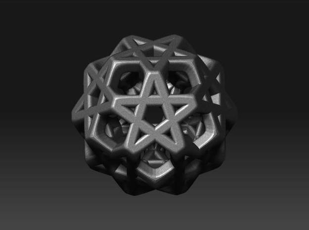 STAR-1.5cm ( improved ) 3d printed Description