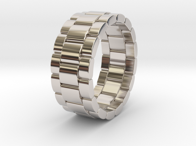 Tibalda - Ring in Rhodium Plated: 6 / 51.5