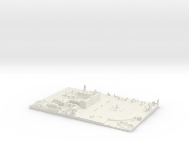 Buckingham Palace Map, London