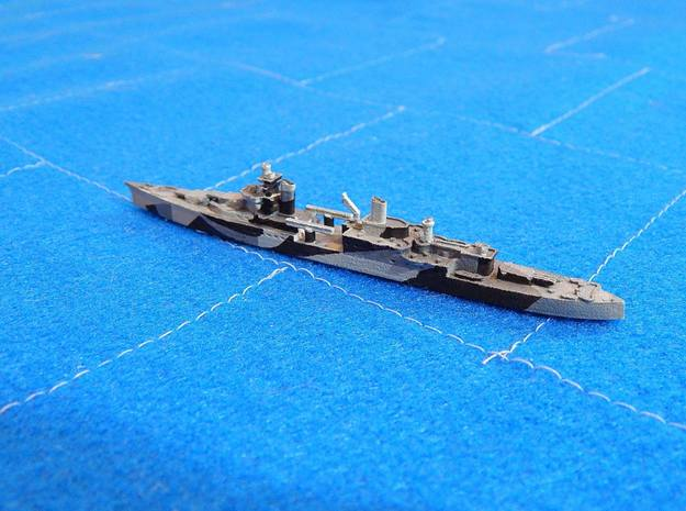 USS Indianapolis 1/1800 in White Natural Versatile Plastic
