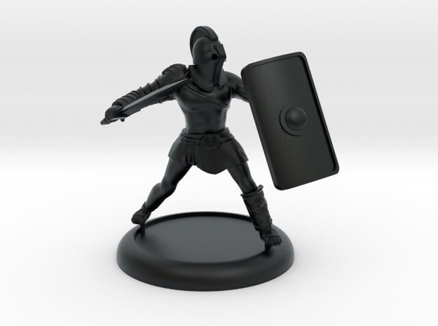 Secutor Gladiator with customisable shield in Black Hi-Def Acrylate