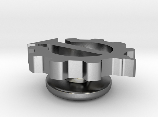 Nail & Gear Lapel Pin (Hello Internet) [Changed]