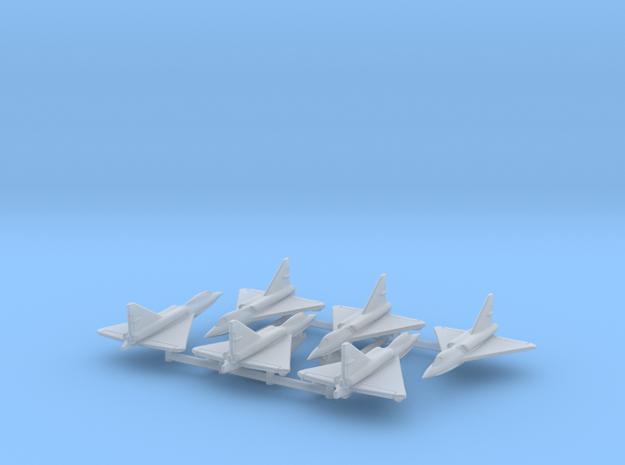 Convair F2Y Sea Dart 1/600 (x6) in Smooth Fine Detail Plastic