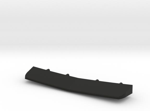 1/144 Burke Stern Flap in Black Natural Versatile Plastic