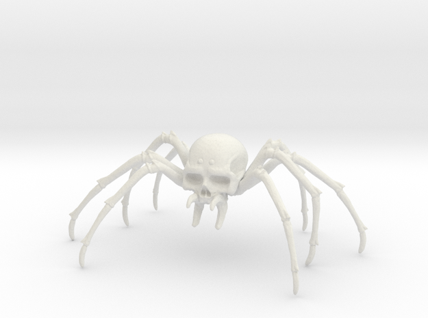 Skultulla 3 in White Natural Versatile Plastic