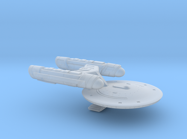 Terran Hadeon Class Heavy Destroyer - 1:7000 in Smooth Fine Detail Plastic