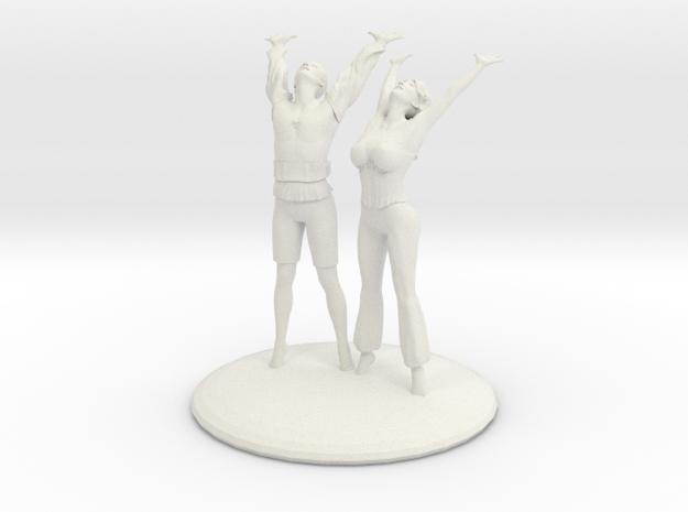 Divine Celebration Couple in White Natural Versatile Plastic