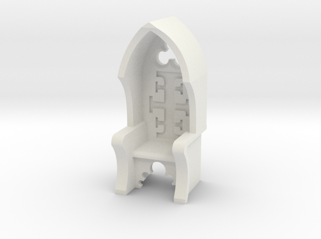 Chair Inquisitor V2 in White Natural Versatile Plastic