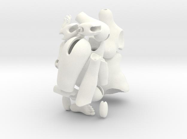 Dollbody Rubenesque Yo-SD size (version1) in White Processed Versatile Plastic