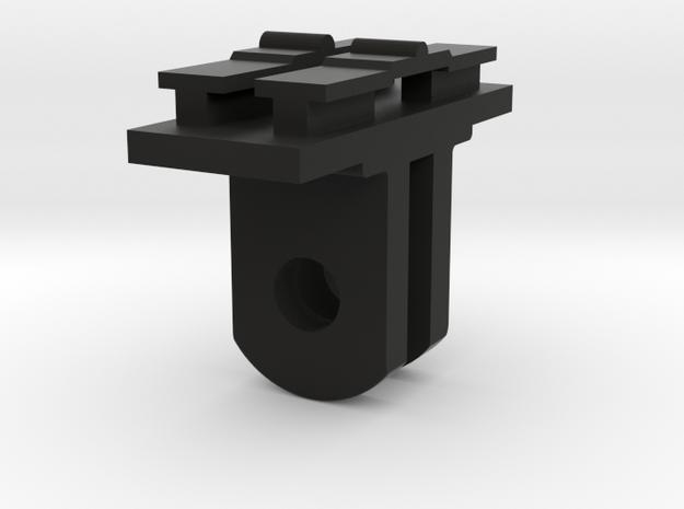 Contour Cam to GoPro Mount Adapter (Side Tilting) in Black Natural Versatile Plastic
