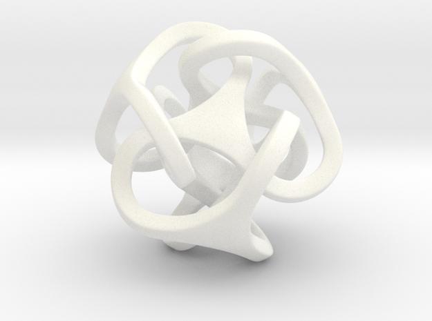 Interlocked Ball based on Tetrahedron