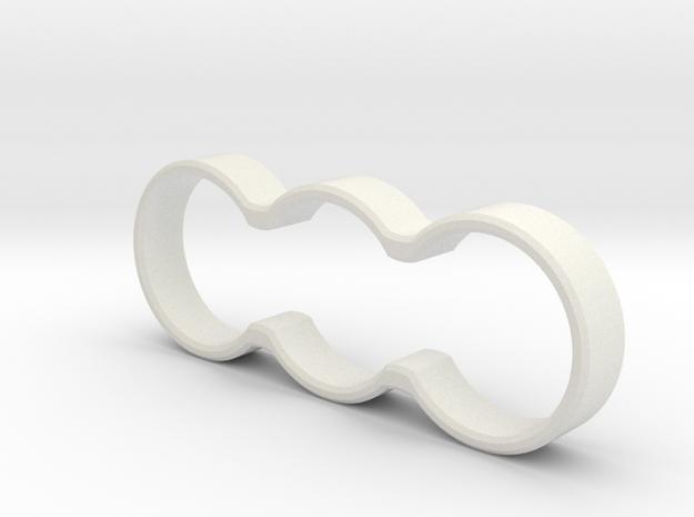 Minimal Double Spinner (Standard Bearing) in White Strong & Flexible