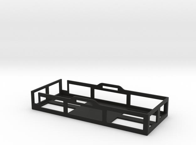 8000mah Lipo Battery Tray / Holder for Zippy Fligh in Black Natural Versatile Plastic