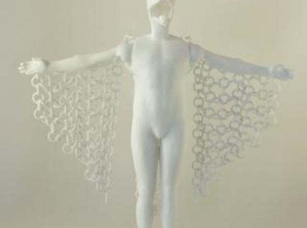 Birdman moveable sculpture: PART 1 3d printed
