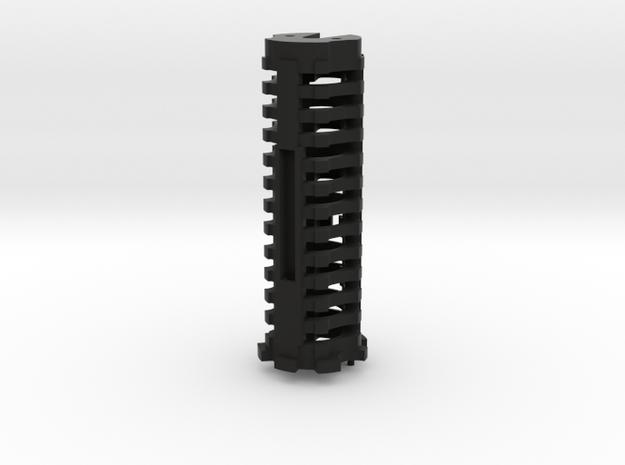 Battery Holder (3.6 Volt 14650) for Korbanth DV6 in Black Natural Versatile Plastic