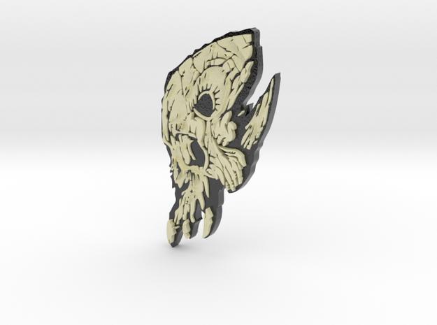 Cranium Utierem in Glossy Full Color Sandstone