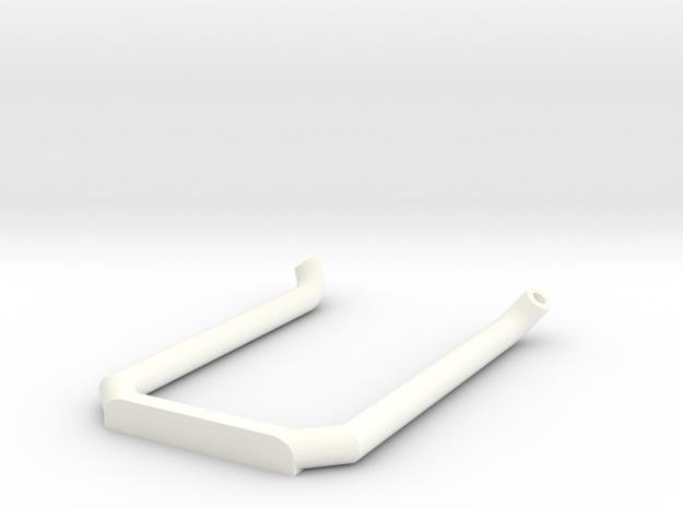 Dobbel eksos Med Knekk Uten Potte in White Processed Versatile Plastic