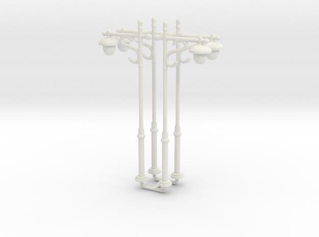 N/OO Scale Lamp x6