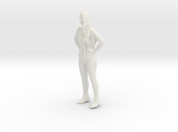 Printle C Femme 071 - 1/20 - wob in White Natural Versatile Plastic