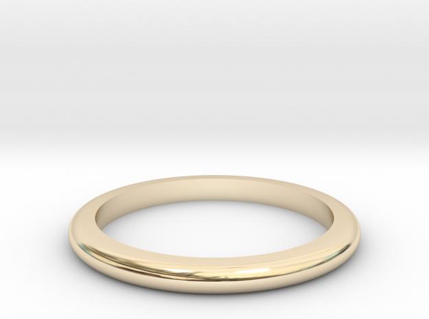 Medium Band  in 14K Gold: 6 / 51.5