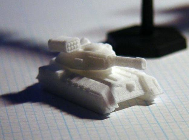Terran Main Battle Tank in White Strong & Flexible