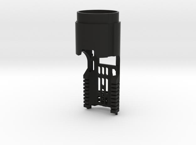 Korbanth DV6 Main Chassis - Prizmv4 (FF Speaker) in Black Natural Versatile Plastic