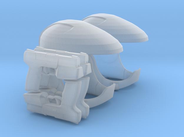 Viper Pilot Patrol (Battlestar Galactica TRS) 1/18 in Smoothest Fine Detail Plastic