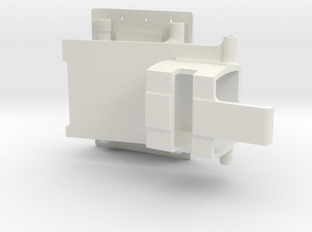 R1 Rock Buggy for Losi Micro Rock Crawler - Roof in White Natural Versatile Plastic