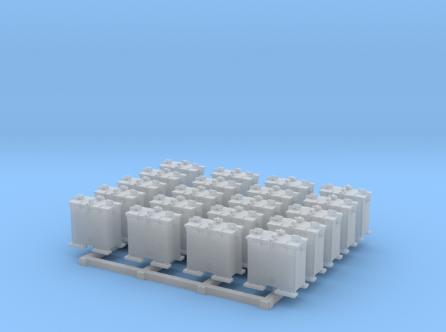 1/144 Scale 20mm Oerlikon Ready Use Lockers x20 in Smoothest Fine Detail Plastic