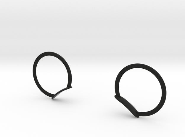 MICKEY RING EARS FOR  DASHBOARD in Black Natural Versatile Plastic: Medium