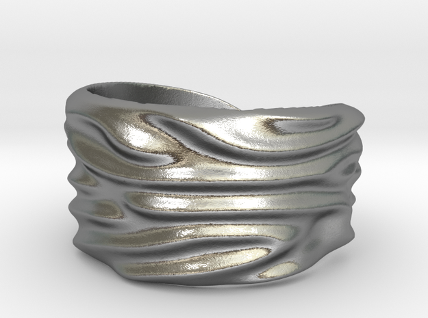 ring_mattis_03cc2 Ring Size 8 in Raw Silver: 8 / 56.75