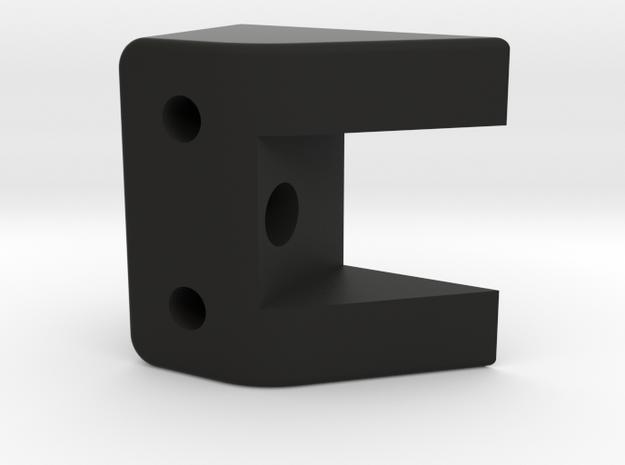 Bruder 574 Loader - RearAxleMountRear in Black Natural Versatile Plastic