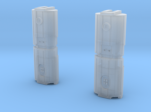 Docking Bay Dual Barrel Things, 1:72 in Smooth Fine Detail Plastic