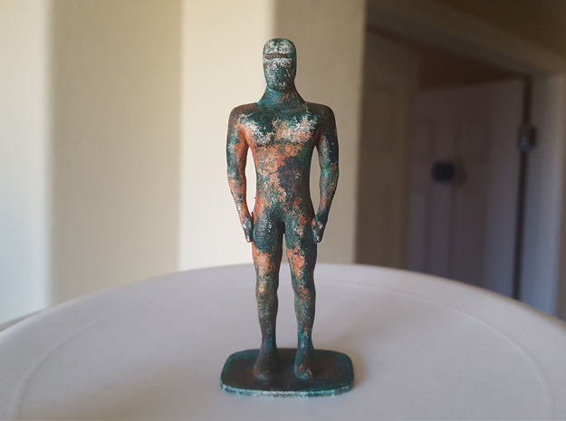 Humanoid Robot Gort Likeness 6 in White Strong & Flexible Polished