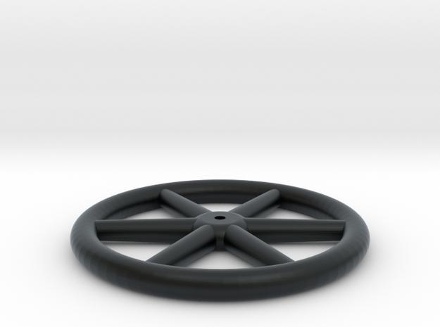 "Gilpin 14"" Brake Wheel (1:13.7) in Black Hi-Def Acrylate"