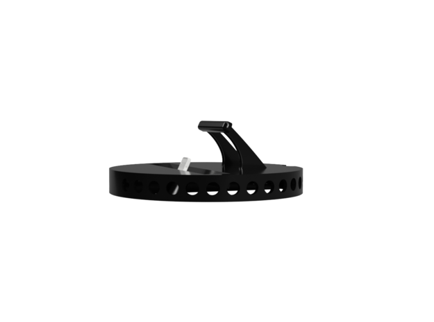 iPhone snap in adapter for BMW 1/2 Series in Black Strong & Flexible