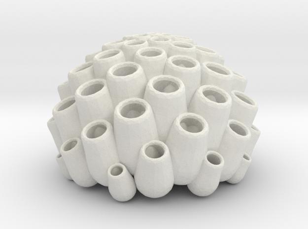Sponge 1 in White Strong & Flexible: 1:32